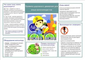 4 ПДД юные велосипедисты 1